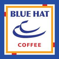 Blue Hat Coffee Company Logo